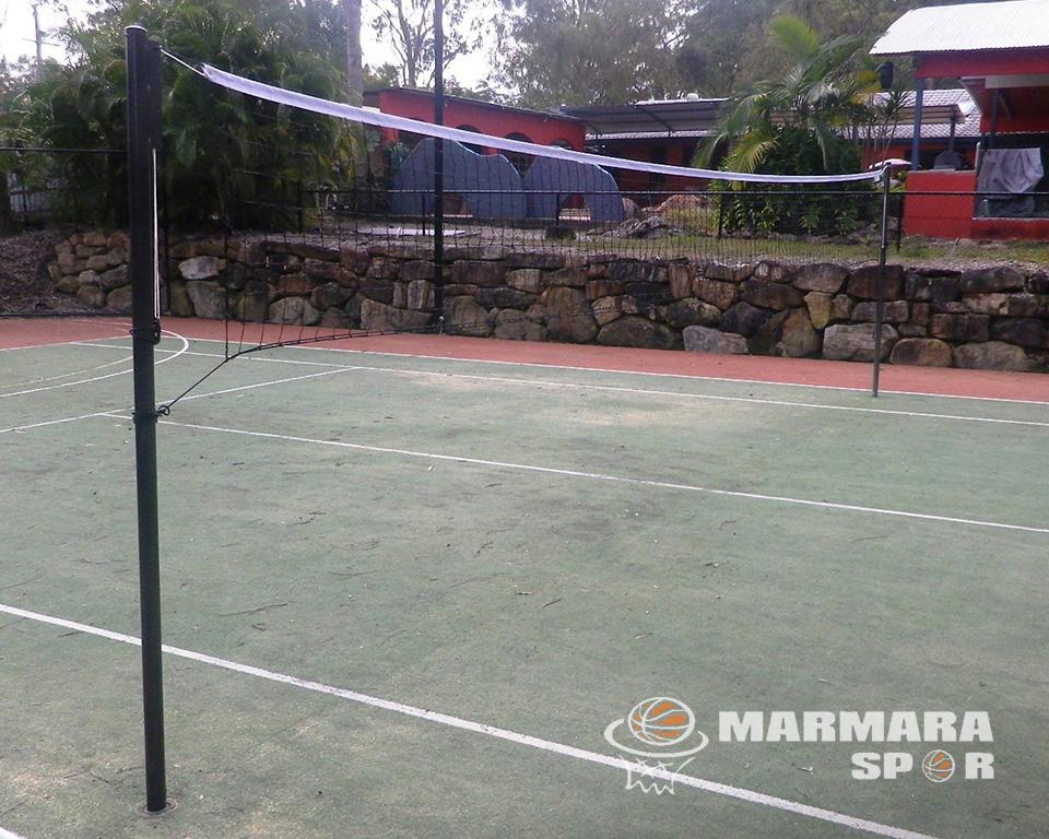 Sabit Mapalı Badminton Direği