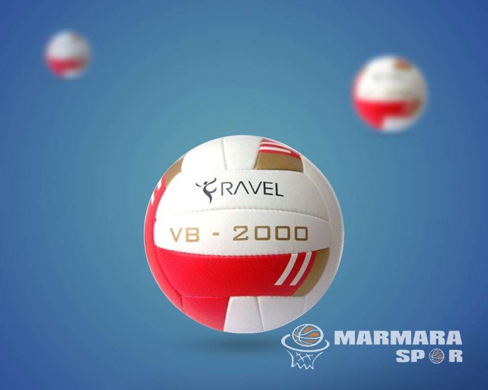 Delta 2000 Voleybol Topu Kırmızı