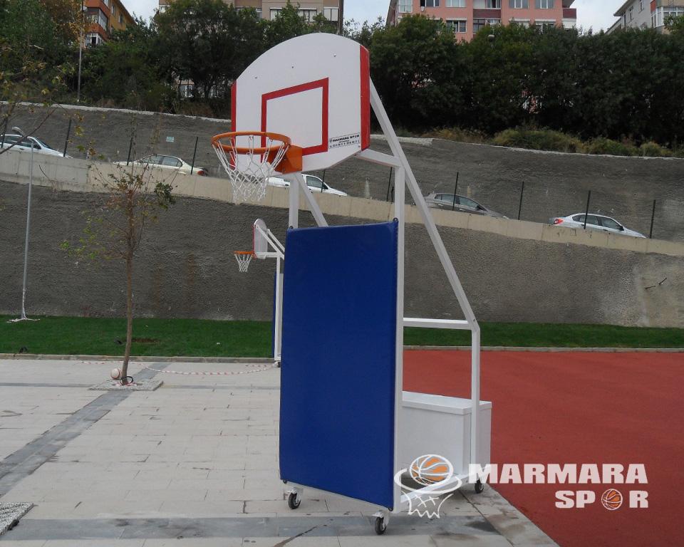 Seyyar USA Panyalı Basketbol Potası