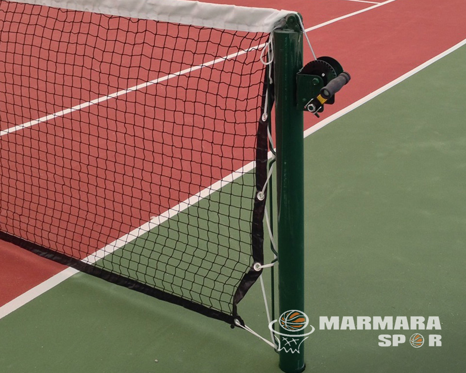 Metal Mapalı Tenis Direği
