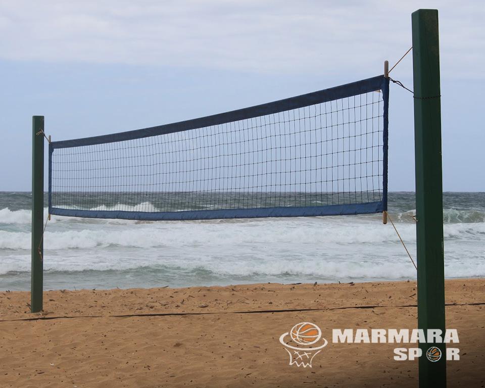 Sabit Plaj Voleybol Direği