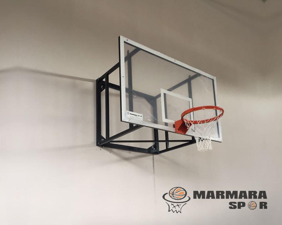 Sabit Akrilik Cam Panyalı Basketbol Potası